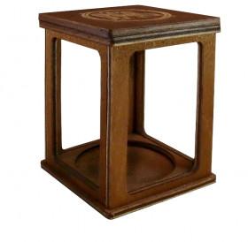 Сувенирная коробочка-20 для Памятника Тысячелетия Российской Государственности. Дерево.