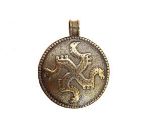 """Decorated pendant """"Solstice"""""""