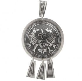 """Noisy pendant """"Terekhovskie birds"""""""