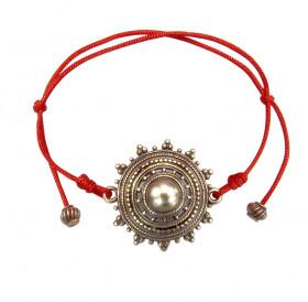 """Bracelet-lace """"Sun seeds"""""""