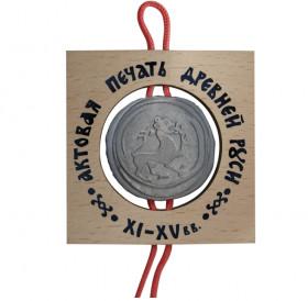 "Plaque 70Х70 ""Seal of Ancient Russia XI-XV centuries."" No. 1"