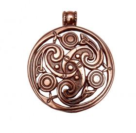 "Slotted pendant ""Three-legged Kolovrat"""