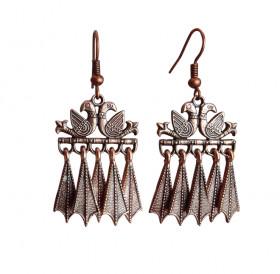 """Earrings """"Pair of pigeons"""""""