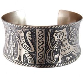 Mikhailovsky concave bracelet