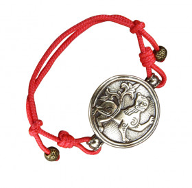 """Bracelet-cord """"Mighty lion"""""""
