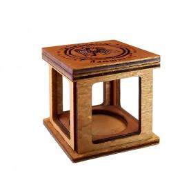 Сувенирная коробочка-19 для колокольчиков № 2. Дерево.