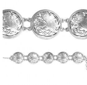 "Slotted bracelet ""Suzdal griffin"""
