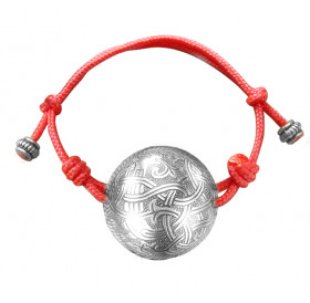 "Spherical lace bracelet ""Unknown animal"""