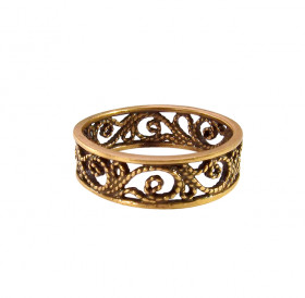 """Ring """"Ruslana"""" slotted"""