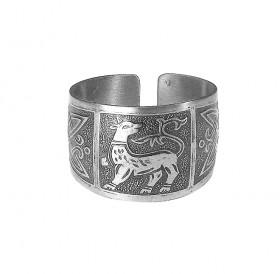 Кольцо «Зверь с процветшим хвостом»