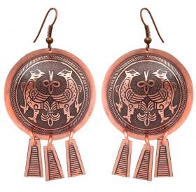 """Noisy earrings """"Terekhovskie birds"""""""