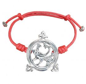 """Bracelet-lace """"Turtle-dove"""""""