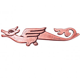 """Brooch """"Flying Serpent"""""""