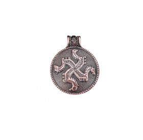 "Complicated pendant ""Solstice"""
