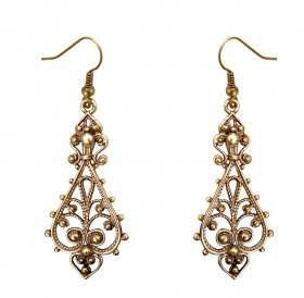 "Slotted earrings ""Charm"""