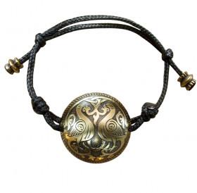 Браслет-шнурок сферический «Суздальские голуби»