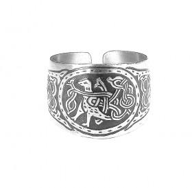 Кольцо «Птица с переплетенным хвостом»
