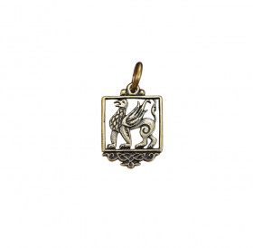 """Slotted pendant """"Griffin"""""""