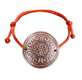 """Bracelet-lace """"Prosperity"""". Embossing"""