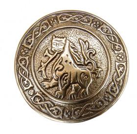 Брошь «Юрьев-Польский лев»
