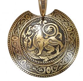 Колт накладной «Суздальский лев»