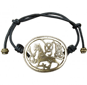 "Bracelet-lace ""King of beasts"""
