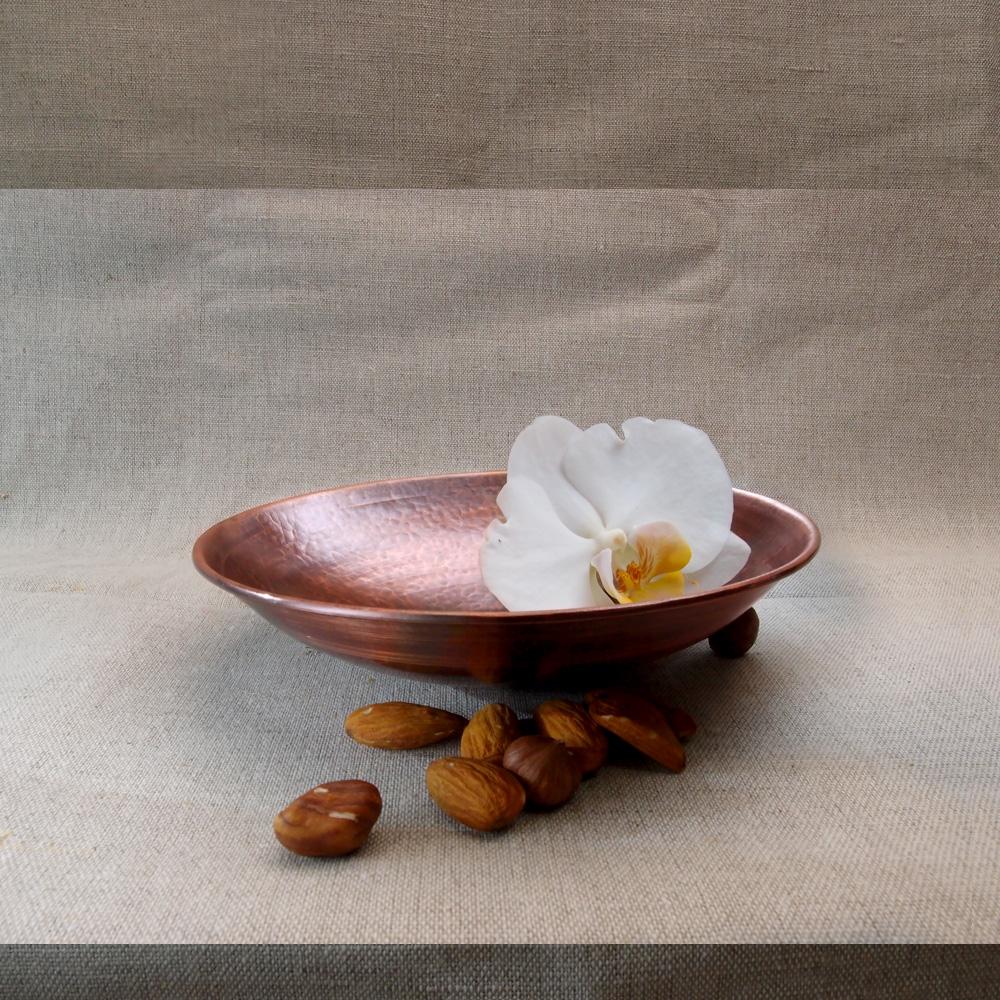 Круглая тарелка с всадником