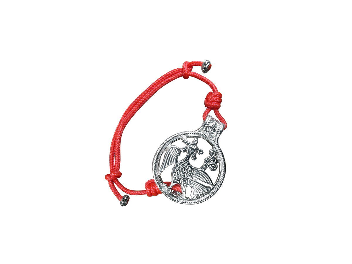 Браслет-шнурок трансформер «Алконост»