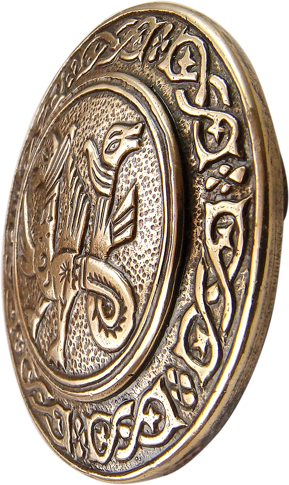 """Brooch """"Two-headed griffin"""""""