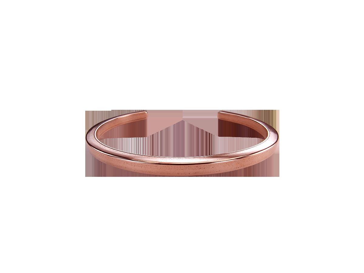 Square bracelet No. 1. 4 X 4 mm Copper