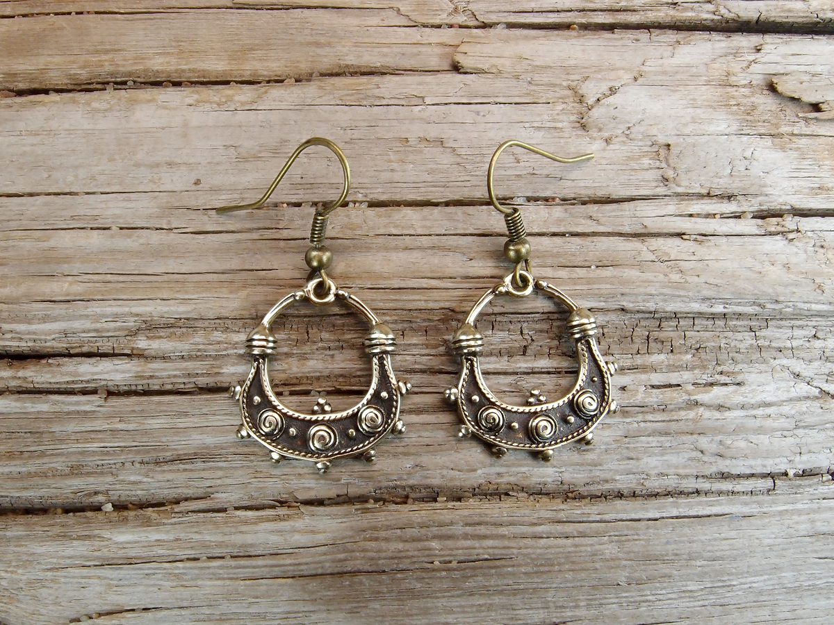 "Earrings ""Wherry"""