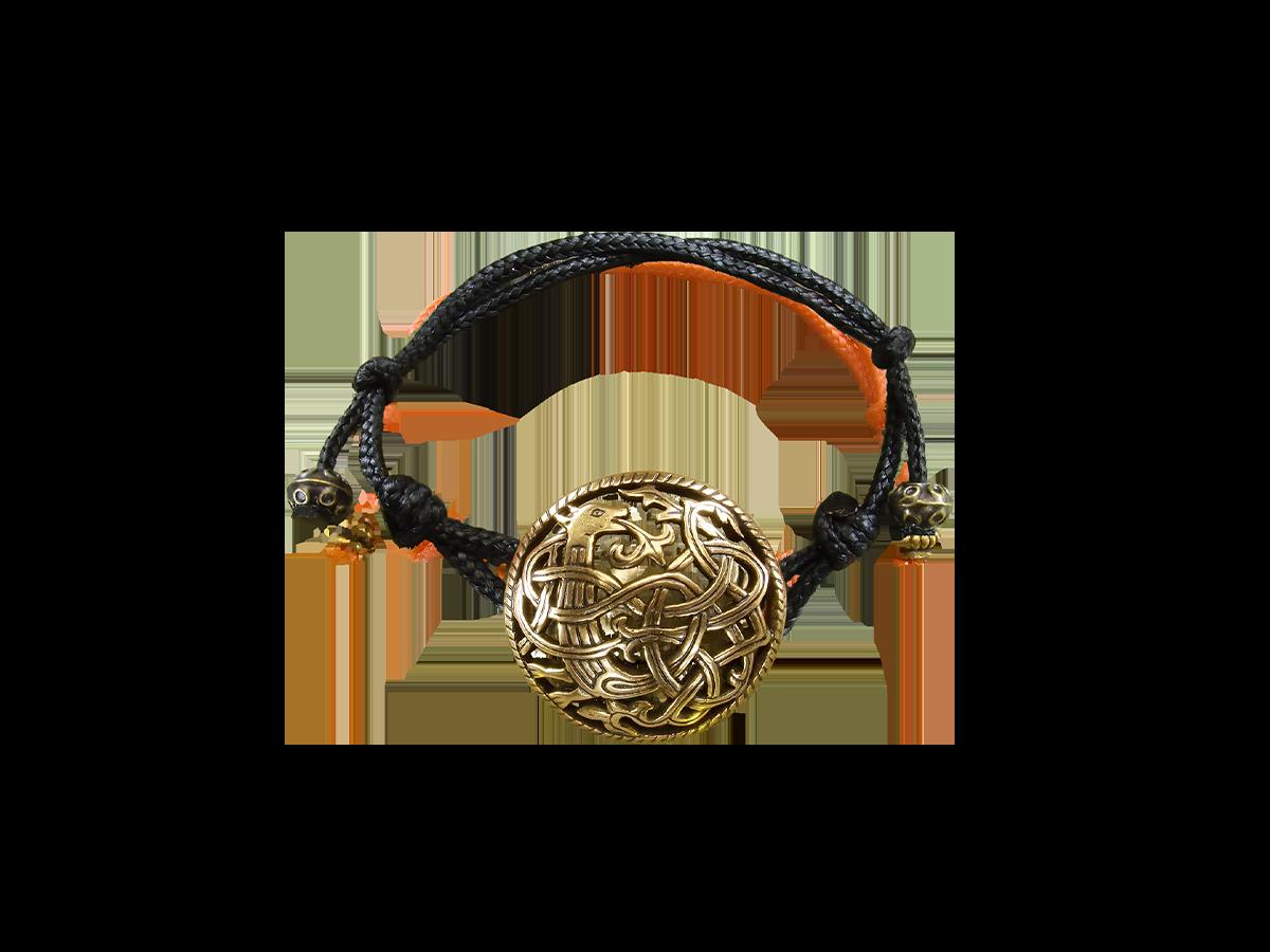 "Bracelet-cord ""Unknown animal"""