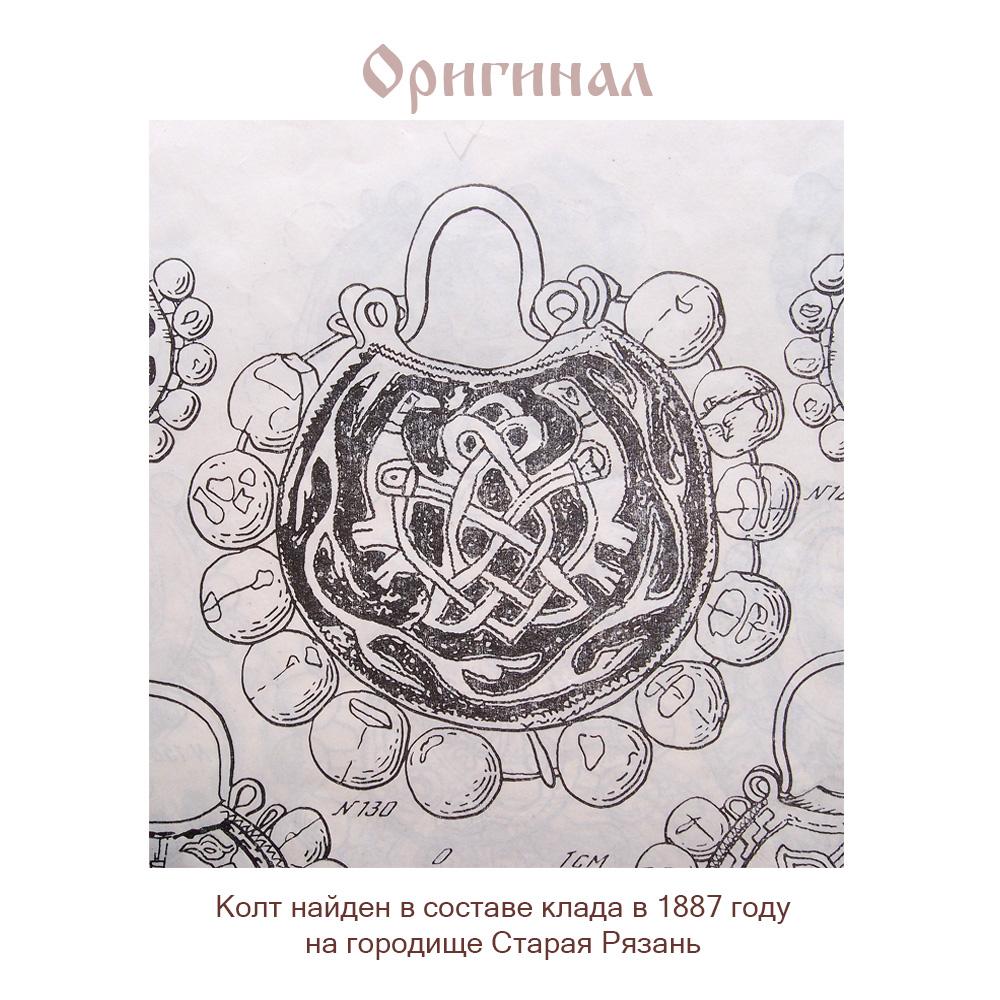 Old Ryazan earrings