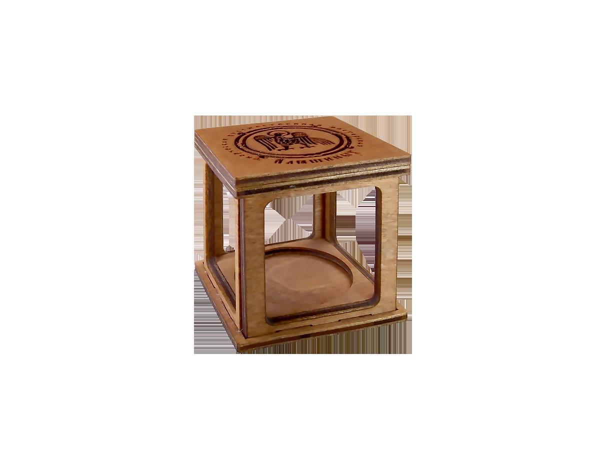 Сувенирная коробочка-18 для колокольчиков № 2,5. Дерево.