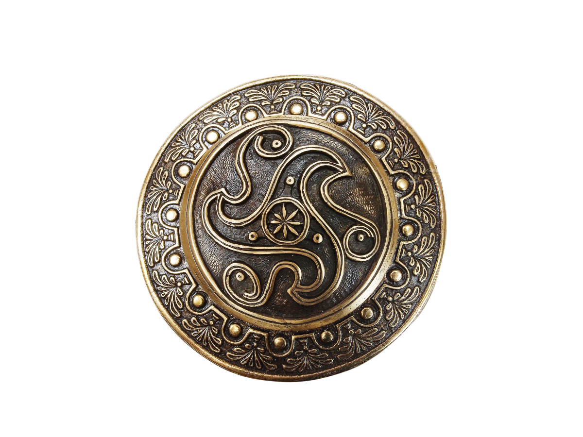 Фибула литая «Трискелион»